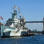 HMS Belfast with Cruise and Afternoon Tea