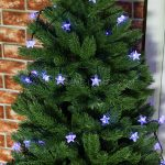 50 Blue LED Star Indoor & Outdoor Battery Fairy Lights with Timer
