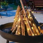 Outdoor Copper Wire Micro Battery Fairy Lights, 50 Warm White LEDs