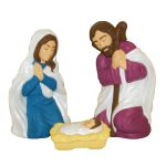 Small Nativity Blow Mould Set, 3 Piece