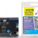Brother LC-970C/LC-1000C Cyan Compatible Ink Cartridge by JetTec – B10C