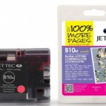 Brother LC-970M/LC-1000M Magenta Compatible Ink Cartridge by JetTec – B10M
