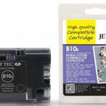 Brother LC-970BK/LC-1000BK Black Compatible Ink Cartridge by JetTec – B10B