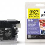 Brother LC980 Black Compatible Ink Cartridge by JetTec – B98B