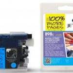 Brother LC980 Cyan Compatible Ink Cartridge by JetTec – B98C