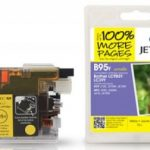 Brother LC985 Yellow Compatible Ink Cartridge by JetTec – B95Y