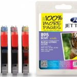 Brother LC985 B/C/M/Y Multipack Compatible Ink Cartridge by JetTec – B95BCMY