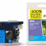 Brother LC985 Cyan Compatible Ink Cartridge by JetTec – B95C