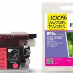 Brother LC985 Magenta Compatible Ink Cartridge by JetTec – B95M