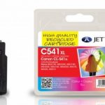 Canon CL-541 CMY Colour Remanufactured Ink Cartridge by JetTec – C541XL