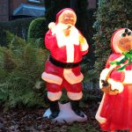 1.2m Whispering Santa Blow Mould Figure