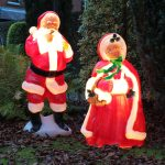 Mr & Mrs Claus Outdoor Blow Mould Figure