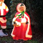 1m Mrs Claus Blow Mould Figure