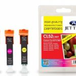 Canon CLI-521 CMY Remanufactured Ink Cartridge by JetTec – CL52CMY