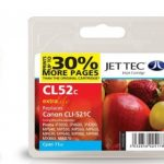Canon CLI-521 Cyan Remanufactured Ink Cartridge by JetTec – CL52C
