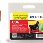 Canon CLI-8BK Black Remanufactured Ink Cartridge by JetTec – CL8B