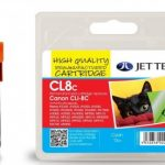 Canon CLI-8C Cyan Remanufactured Ink Cartridge by JetTec – CL8C