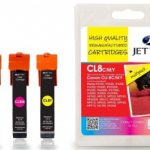 Canon CLI-8CMY MULTIPACK Remanufactured Ink Cartridge by JetTec – CL8CMY
