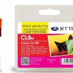 Canon CLI-8M Magenta Remanufactured Ink Cartridge by JetTec – CL8M