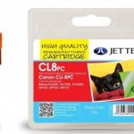 Canon CLI-8PC PHOTO Cyan Remanufactured Ink Cartridge by JetTec – CL8PC