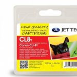 Canon CLI-8Y Yellow Remanufactured Ink Cartridge by JetTec – CL8Y