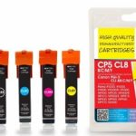 Canon CP5/CL8 BCMY PGI-5 CLI-8 MULTIPACK Remanufactured Ink Cartridge by JetTec – CP5CL8BCMY