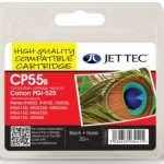 Canon PGI-525 Black Remanufactured Ink Cartridge by JetTec – CP55B