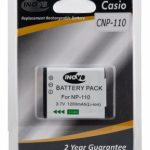 Casio NP-110 Equivalent Digital Camera Battery by Inov8