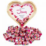 Love Hearts Wooden Tray