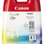 Genuine Colour Canon CL-41 Ink Cartridge – 0617B001