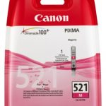 Genuine Magenta Canon CLI-521M Ink Cartridge – 2935B001AA