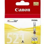 Genuine Yellow Canon CLI-521Y Ink Cartridge – 2936B001AA