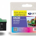 Dell T0530 Colour Remanufactured Ink Cartridge by JetTec – D530