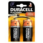 Duracell Alkaline Batteries – D (Type) Pack of 2
