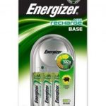 Energizer Base Battery Charger plus 4x AA 1300mAh