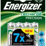 Energizer Precision Ni-MH 2400 mAh AA Battery – 4-Pack