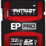 Patriot Secure Digital (SDHC) EP Series 50MB/sec Class 10 – 32GB