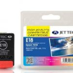 Epson T018 Colour Compatible Ink Cartridge by JetTec – E18
