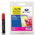 Epson T0333 Magenta Compatible Ink Cartridge by JetTec – E33M