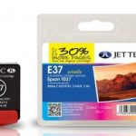 Epson T037 Colour Compatible Ink Cartridge by JetTec – E37