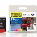 Epson T014 Colour Compatible Ink Cartridge by JetTec – E14