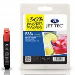 Epson T0331 Black Compatible Ink Cartridge by JetTec – E33B