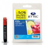 Epson T0332 Cyan Compatible Ink Cartridge by JetTec – E33C