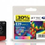 Epson T039 Colour Compatible Ink Cartridge by JetTec – E39