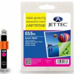 Epson T0553 Magenta Remanufactured Ink Cartridge by JetTec – E55M