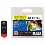 Epson T066 Black Compatible Ink Cartridge by JetTec – E66