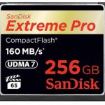 SanDisk Extreme Pro 160MB/sec Compact Flash Card – 256GB