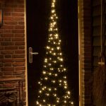 2.3m FairyBell Pre-lit Hanging Door Tree, 120 Warm White LEDs