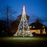 6m FairyBell Outdoor Pre-lit Tree, 960 White Twinkle LEDs