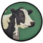 Agatha the Friesian Cow AGA Chefs Pad